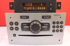 VAUXHALL MERIVA CORSA D CD30 CAR RADIO CD MP3 AUX PLAYER PAIRED DISPLAY DELPHI