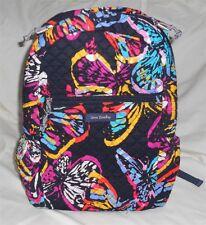 Vera Bradley Backpack Butterfly Flutter Colorful New