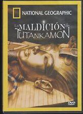 DVD - La Maldicion De Tutankamon NEW National Geographic FAST SHIPPING!