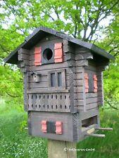 ORIGINAL WILDLIFE GARDEN MULTIHOLK ALPENHAUS 2in1 Nistkasten Vogelfutterhaus