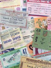 UEFA European Tickets/Entrada/Biglietti.. Some Very Rare!..*Choose from list*