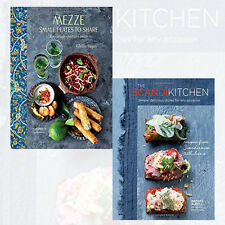 The Scandi Kitchen,Mezze 2 Books Collection Set HardCover Brand New Pack
