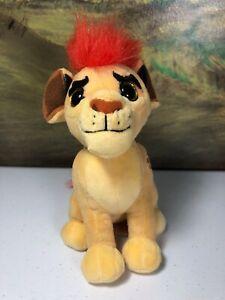 "TY Disney Lion Guard Kion small 6.5"" stuffed animal beanie plush"