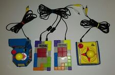 Plug And Play Lot of 3 Tetris Ms & Super Pac-Man Tv Games Namco Free Shipping!