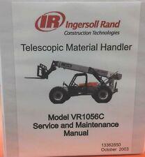 Ingersoll Rand Telehandler VR1056C Service Manual - 13362850