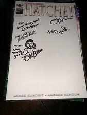 HATCHET COMIC #0 SKETCH COVER SIGNED ADAM GREEN +4