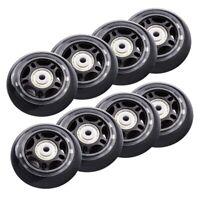 8 Pack Inline Skate Wheels Beginner's Roller Blades Replacement Wheel with BG7W1