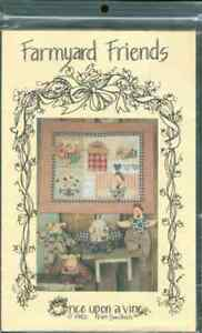 Once Upon a Vine Farmyard Friends sewing pattern New OOP t342
