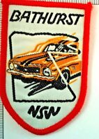Bathurst Cloth Badge Patch Sew On Souvenir NSW Car Race Way Track Australia
