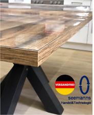 Tischfolie 2mm Tischdecke Transparent Schutzfolie Tischschutz Tischmatte PVC