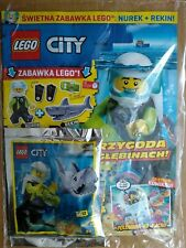 LEGO CITY 7/2020 + DIVER + SHARK Limited Edition Mini Figure