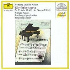 Mozart [CD] Klavierkonzerte, Nr. 23, 24, KV 488, 491 (DG, 1960) Wilhelm Kempf...
