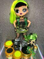 Lol OMG Bhad Gurl 💚 Remix Series Fashion Doll with Original Bhaddie Sister