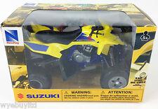 Newray moulé sous pression modèle suzuki lt-r 450 quad modèle jouet coffret cadeau quad échelle 1:12