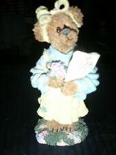 Boyds Bearstones Abby T. Bearymuch Figurine