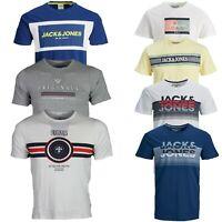 Jack & Jones Boys Short Sleeve T Shirts Crew neck Summer Tee Tops for Kids