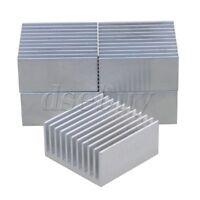 5pcs 40x40x20mm Silver Aluminium Heat Sink Cooling Fin Radiator Heatsink