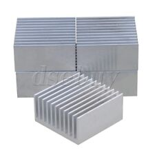 5pcs 40x40x20mm Silver Aluminium Heat Sink Cooling Fin Radiator Heatsink