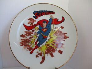 Vintage Superman Collector Plate 1983