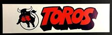 Toronto Toros Bumper Sticker Decal Vintage Hockey Maple Leaf Gardens Ontario WHA