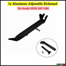 Aluminum Adjustable Kickstand Foot Side Support Fits SUZUKI GSXR 2007-2008 Black