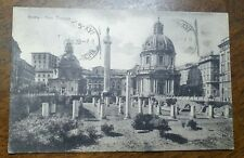 1929 Roma. Foro Traiano. Postcard