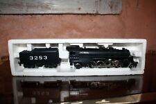 Trains HO  Lima Locomotive à vapeur tender Mikado  2-8-2 Italy A.T. & S.F 3003