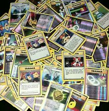 40 RANDOM TRAINER Pokemon TCG Cards -Uncommons AND REVERSE HOLOs Guaranteed!