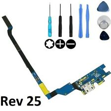 USB Charging Dock Port Flex Cable with Mic for Samsung Galaxy S4 i9505 - REV25