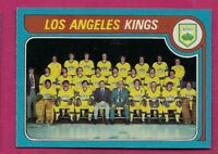 1979-80 TOPPS # 250 KINGS UNMARKED TEAM CHECKLIST NRMT-MT CARD(INV# A5508)