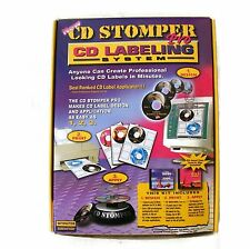 CD Stomper Pro CD DVD Labeling System Labels Design Labels