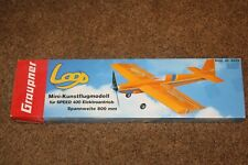 Graupner Loop RC Airplane Kit NIB OS Aerobatic 400 size sport plane