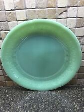 Vintage Anchor Hocking Fire-King Jade-ite Jadite Jadeite Alice Dinner Plate Used