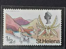 ST HELENA SG 226 LMM Variety DOWNWARD SHIFT ON INK CREATING BLURRED DOUBLE PRINT