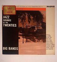 JAZZ SOUNDS TWENTIES VOL 1 BIG BANDS UK IMPORT PARLOPHONE PMC 1166 Mono LP Vinyl