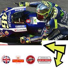 Valentino Rossi Moto GP Arrow Attelage Fluorescent Autocollant Vinyle 45mm F169
