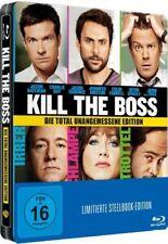 KILL THE BOSS (Jason Bateman, Jennifer Aniston) Blu-ray Disc, Steelbook NEU+OVP