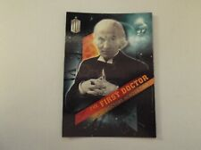 """Topps Dr Who - Timeless """"THE FIRST DOCTOR"""" #1/13, William Hartnell Trading Card"""