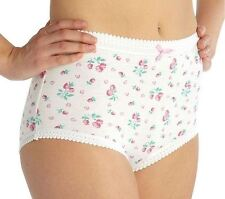 Ladies Womens Plus Size Underwear Briefs Knickers Pants Panties Cotton