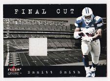 EMMITT SMITH 2001 Fleer Genuine Final Cut Game-Worn Uniform Cowboys HOF NM - MT