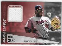 2019 Topps Miguel Sano Major League Materials Jersey Relic SP MLM-MS