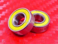 [QTY 2] S699-2RS (9x20x6 mm) CERAMIC 440c S.Steel Ball Bearing 699RS ABEC-5