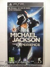 OCCASION: Jeu MICHAEL JACKSON THE EXPERIENCE playstation PSP sony game francais