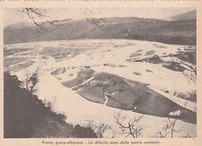 7827) WW2, GRECIA / ALBANIA, LA DIFFICILE ZONA DELLA NOSTRA AVANZATA.