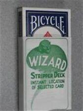 Card Magic Trick - Stripper Deck - Blue Bicycle Poker