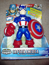 Marvel Super Hero Squad Super Shield Captain America with Phrases and Glow NEW I