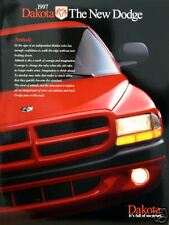 1997 Dodge Dakota pickup truck new vehicle brochure
