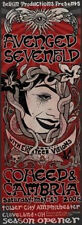 Coheed & Cambria Avenged Sevenfold A7X Oh Gig Poster 06