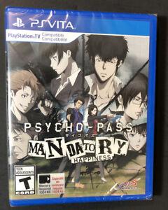 Psycho-Pass Mandatory Happiness [ PS TV Compatible ] (PS VITA) NEW