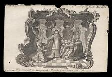 santino incisione1700 S.MATILDE DI HACKEBORN  klauber